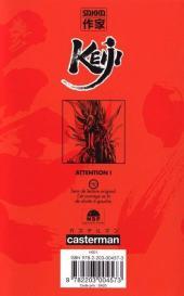 Verso de Keiji -1- Tome 1