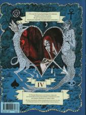 Verso de Le bestiaire amoureux -4- L'âge où on est mort