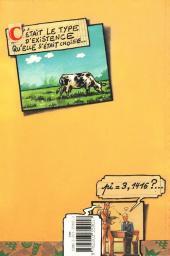Verso de La vache -1- Pi=3,1416