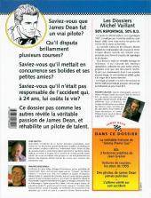 Verso de Michel Vaillant (Dossiers) -1- James Dean - La passion foudroyée