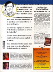 Verso de Michel Vaillant (Dossiers) -2- Jacky Ickx - L'enfant terrible