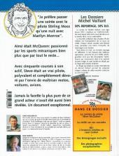 Verso de Michel Vaillant (Dossiers) -3- McQueen - L'homme mécanique