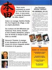 Verso de Michel Vaillant (Dossiers) -4- Honda - 50 ans de passion