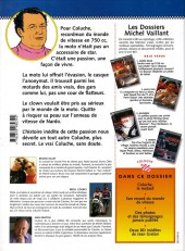 Verso de Michel Vaillant (Dossiers) -5- Coluche - C'est l'exploit d'un mec...