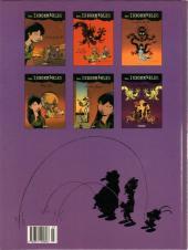 Verso de Les innommables (Premières maquettes) -53- Au lotus pourpre