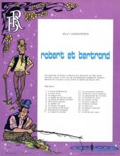 Verso de Robert et Bertrand -22- La ferme aux loups