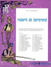 Verso de Robert et Bertrand -38- Le médium