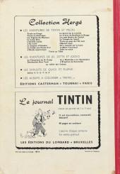Verso de (Recueil) Tintin (Album du journal - Édition belge) -45- Tome 45