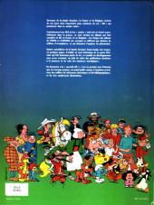 Verso de (DOC) Études et essais divers -a- Histoire de la bande dessinée en France et en Belgique... des origines à nos jours