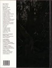 Verso de Blueberry (La Jeunesse de) -9- Le prix du sang