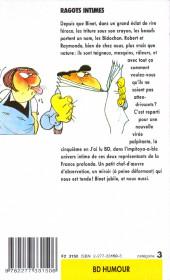 Verso de Les bidochon -5Poch- Ragots intimes