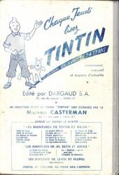 Verso de (Recueil) Tintin (Album du journal - Édition française) -43- Tintin album du journal