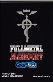 Verso de FullMetal Alchemist -HS- Gags en 4 cases