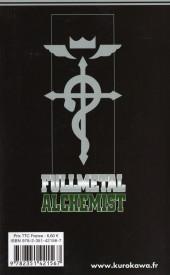 Verso de FullMetal Alchemist -12- La silhouette que l'on voit au loin
