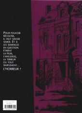Verso de Lectures macabres - Histoires à ne pas vivre la nuit
