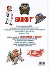 Verso de La face karchée de Sarkozy -2- Sarko 1er