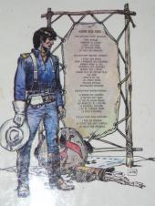 Verso de Blueberry -5- La piste des Navajos