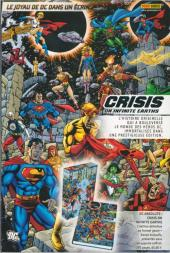 Verso de Infinite Crisis : 52 -1- Le nouvel ordre mondial