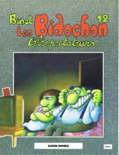 Verso de Les bidochon (France Loisirs - Album Double) -6- Matin midi et soir suivi de matin midi et soir / Télespectateurs