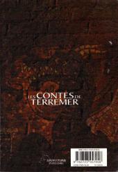 Verso de Les contes de Terremer -1- Les Contes de Terremer 1
