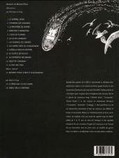 Verso de Bernard Prince -8c1998- La flamme verte du conquistador