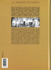 Verso de La mémoire des arbres -2- La hache et le fusil - tome 2