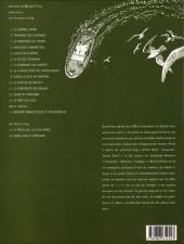 Verso de Bernard Prince -10c1997- Le souffle de Moloch