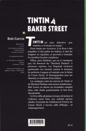Verso de (AUT) Hergé -111- Tintin à Baker Street