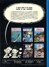 Verso de Spirou et Fantasio -1c1972- 4 aventures de Spirou ...et Fantasio