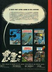 Verso de Spirou et Fantasio -7a1972- Le dictateur et le champignon