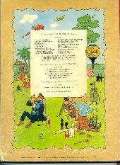 Verso de Tintin (Historique) -11B32- Le Secret de la Licorne