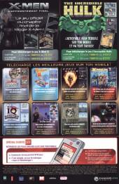 Verso de Marvel Icons Hors Série -10- Les jeunes vengeurs & les fugitifs