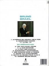 Verso de Bruno Brazil -11- La fin...!??