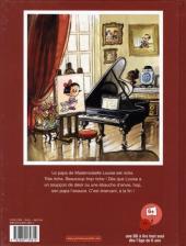 Verso de Mademoiselle Louise -3- Une gamine en or