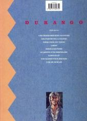 Verso de Durango -5c- Sierra sauvage