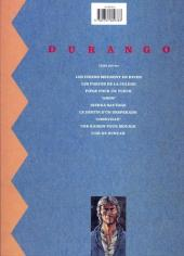 Verso de Durango -8a1991- Une raison pour mourir