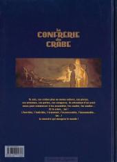 Verso de La confrérie du crabe -1- Première partie