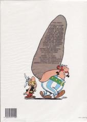 Verso de Astérix -24b- Astérix chez les Belges