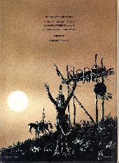 Verso de L'indien français -3- Le scalp et la peau