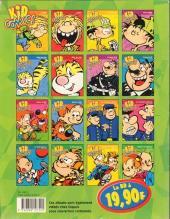 Verso de Le petit Spirou -3Kid14- Kid Comics 14