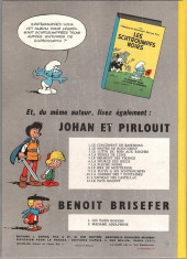Verso de Benoît Brisefer -1a1966- Les taxis rouges