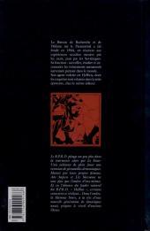 Verso de B.P.R.D. -5- La Flamme Noire