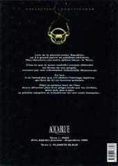 Verso de Aquablue -2- Planète bleue
