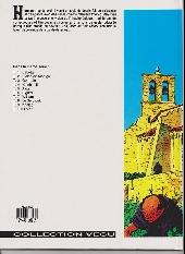 Verso de Les tours de Bois-Maury -4b- Reinhardt