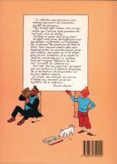 Verso de Tintin - Divers - 444 albums Tintin
