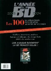 Verso de L'année de la BD (Soleil) -9- L'année de la BD 2003-2004