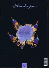 Verso de Horologiom -1- L'homme sans clef