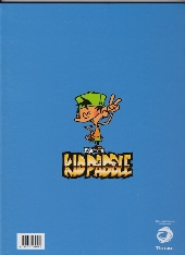 Verso de Kid Paddle -Pub3- L'Abominable Blork des mers - Compil' de gags