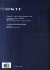 Verso de L'arche -INT- L'intégrale