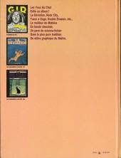 Verso de Moebius œuvres complètes -6- Les Yeux du Chat, La Déviation